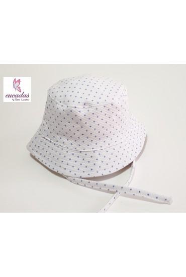 Sombrerito Estrellas Piqué