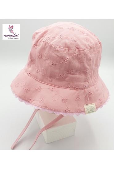 Sombrerito Bordado Inglés