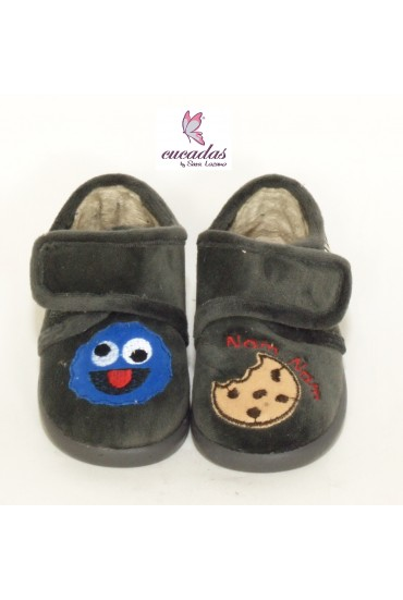 Zapatilla De Casa Cookie Gris