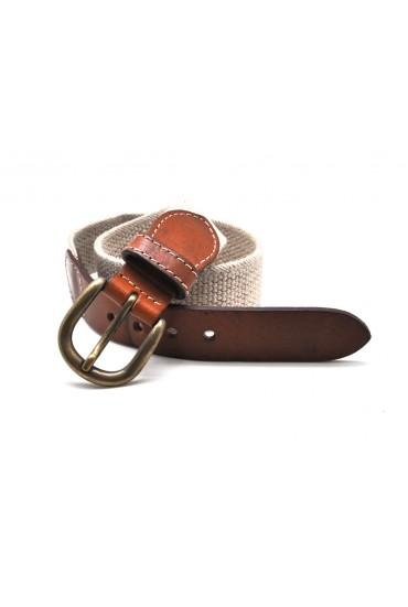 Cinturón Lino Elástico